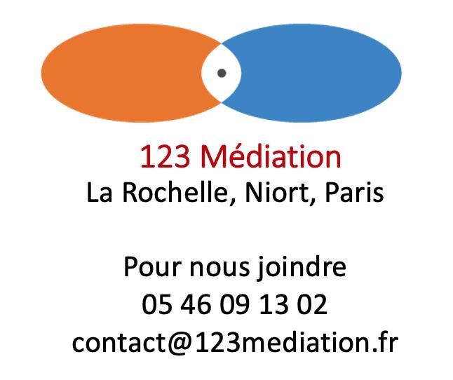 123 Médiation   La Rochelle, Niort, Paris